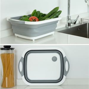 Foldable Storage Chopping Board - Watch Destination