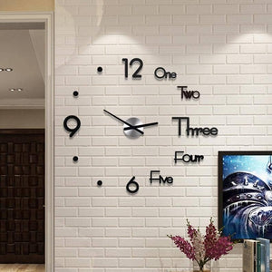 DIY 3d Wall Clock - Watch Destination