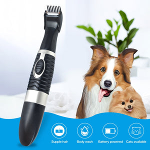 Pet Grooming Clippers for Trimming The Hair Around Paws, Eyes, Ears, Face, Rump - Watch Destination