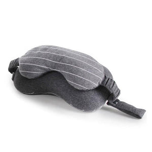 Anti Stress Pillow With Eye Mask - Watch Destination