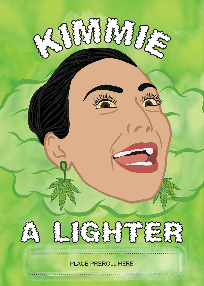Kimmie a Lighter Card