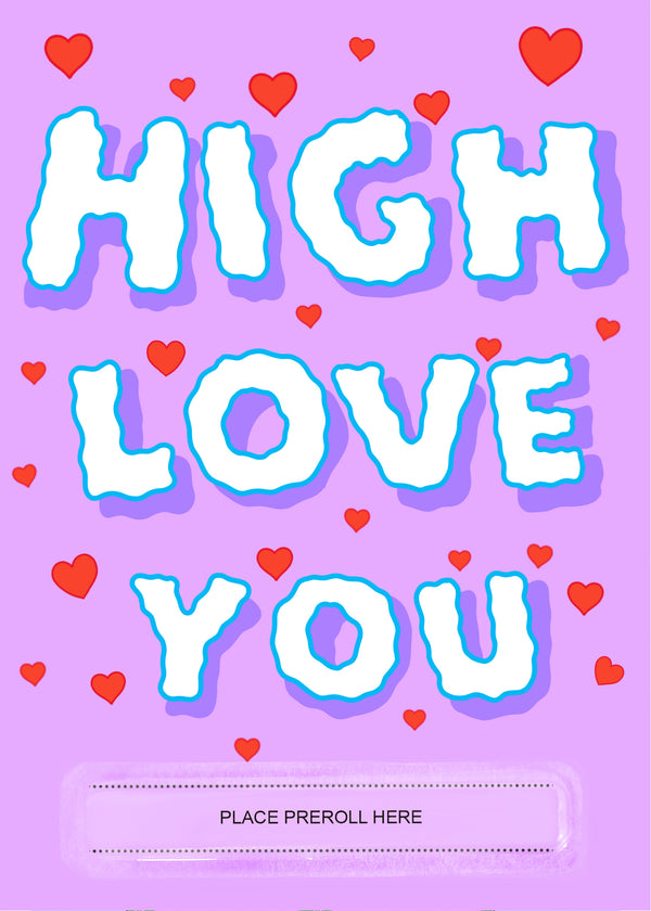 High Love You Card