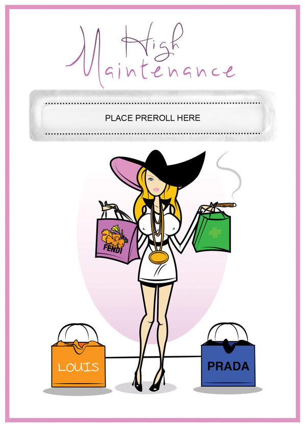 High Maintenance Card