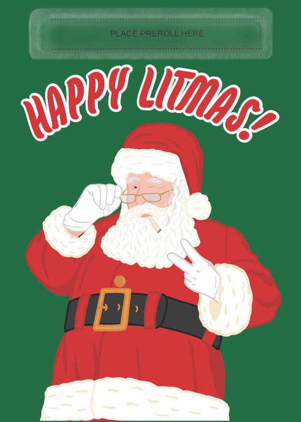Happy Litmas Card