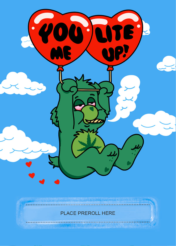 You Lite Me Up Greeting Card