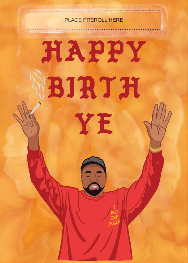 Happy Birth Ye Card