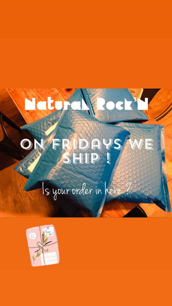 Ordering from Natural Rock'N Beauty