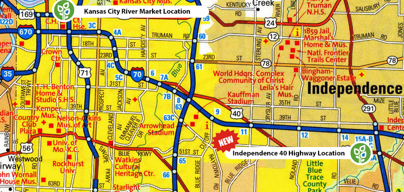 River Market Hydro Locations