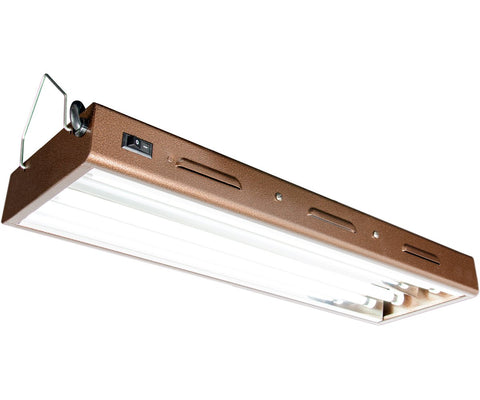 Agrobrite Designer T5 48W 2' 2-Tube Fixture with Lamps