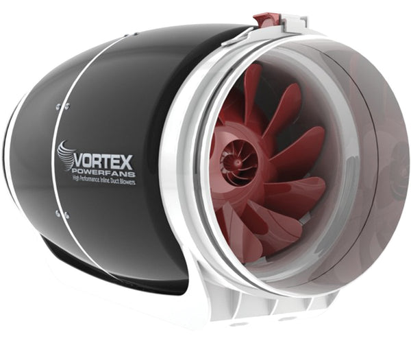 "Vortex Powerfan S-Line, 8"", 728 CFM"