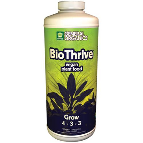 General Organics BioThrive Grow 1qt