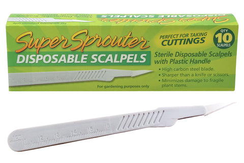 Super Sprouter Sterile Disposable Scalpel