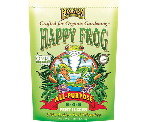 FoxFarm Happy Frog; All-Purpose Fertilizer, 4 lb bag