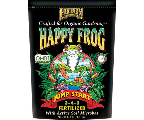 FoxFarm Happy Frog Jump Start, 4 lb bag