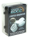 Grower's Edge Illuminated Magnifier Loupe 40x