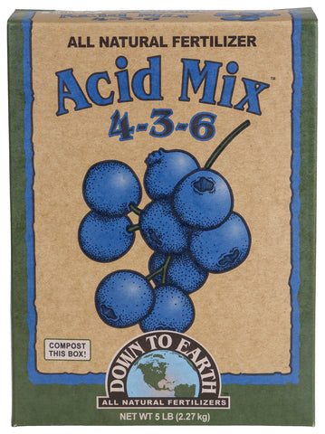 Down To Earth Acid Mix - 5 lb
