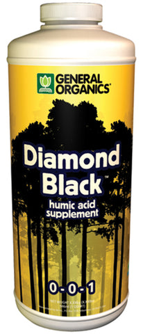 General Organics Diamond Black 1qt