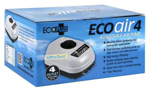 EcoPlus Eco Air 4 Four Outlet - 6.5 Watt 253 GPH