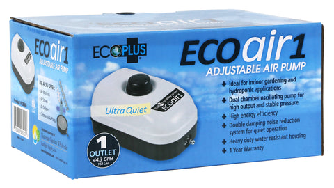 EcoPlus Eco Air 1 Plus One Outlet - 2 Watt 44 GPH
