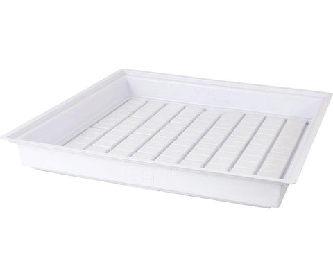 Active Aqua Flood Table, White, 4' x 4'