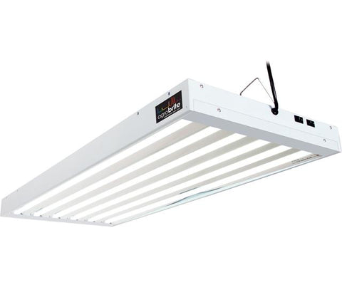 Agrobrite T5 4Ft 6 Tube Fixture w/Bulbs