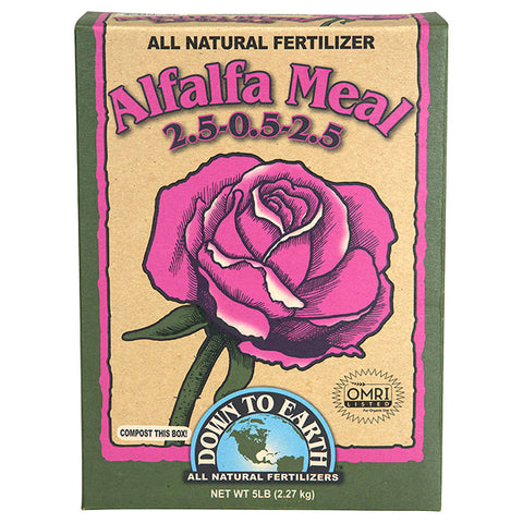 Down To Earth Alfalfa Meal - 5 lb