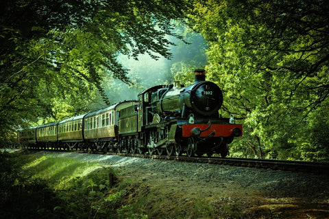 steam train ride