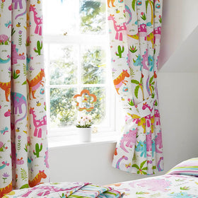 Daisy Dino Curtains