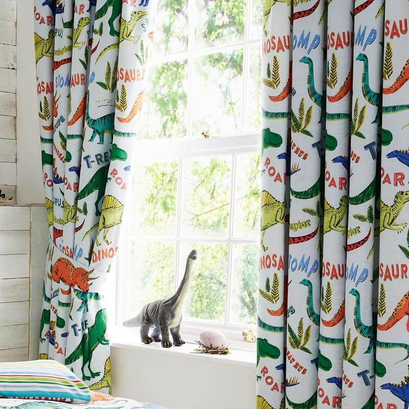 Dino-Snore Curtains