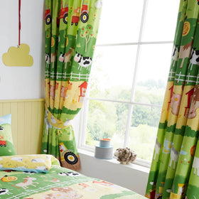 Farm Friends Curtains