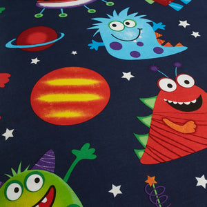 Outer Space Glow In The Dark Bedding