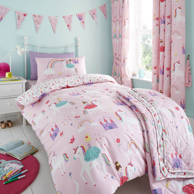 Castle Unicorn Bedding