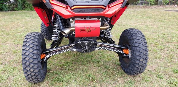 Polaris RZR Turbo S Billet Rear Pull Plate