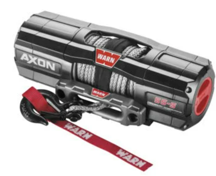 The AXON™ lineup takes winching to the next level by combining a powerful motor and an all new first-of-its-kind, digital contactor into one unit called a Motactor™. This combined unit provides the user with higher levels of performance and feedback. All-metal construction, waterproof-sealing and increased structural rigidity, designed for the most extreme environments.