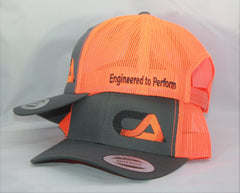 Orange And Gray Snap Back
