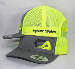 Yellow And Gray Snap Back