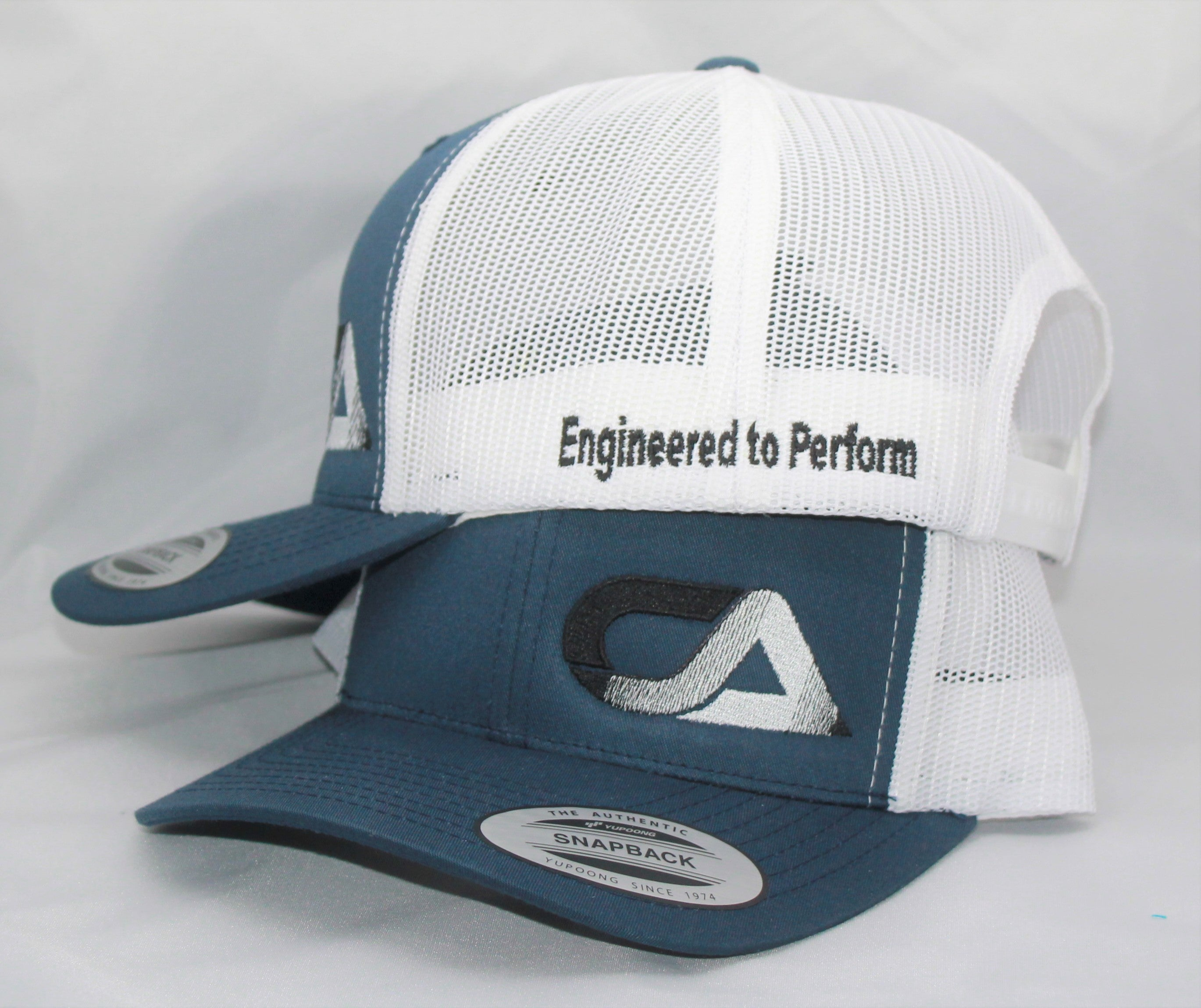 Blue And White Snap Back