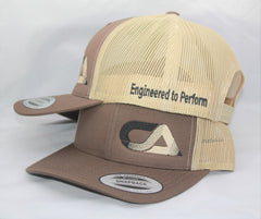 Brown And Tan Snap Back