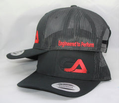 Black And Red Snap Back