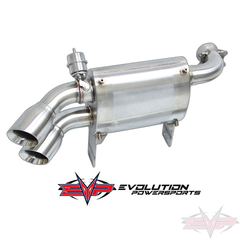 Can-Am X3 EVO powersports captains choice exhaust