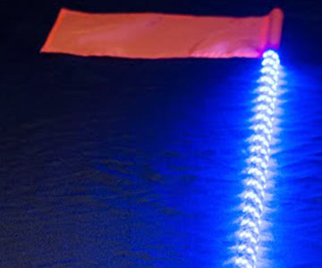 1 LED 5150 Whip Light 5ft.