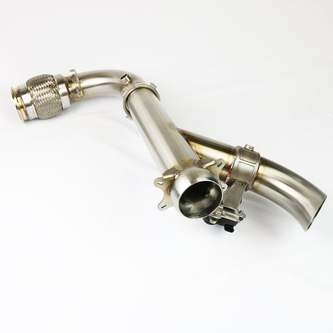 EVO Powersports Shocker Electric Side Dump Exhaust Can-Am X3