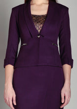Load image into Gallery viewer, AYSHA Blazer Amethyst