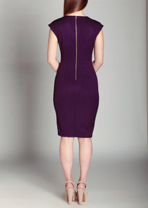 Eva Dress Amethyst