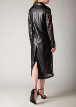 Load image into Gallery viewer, Lace & Leather Duster