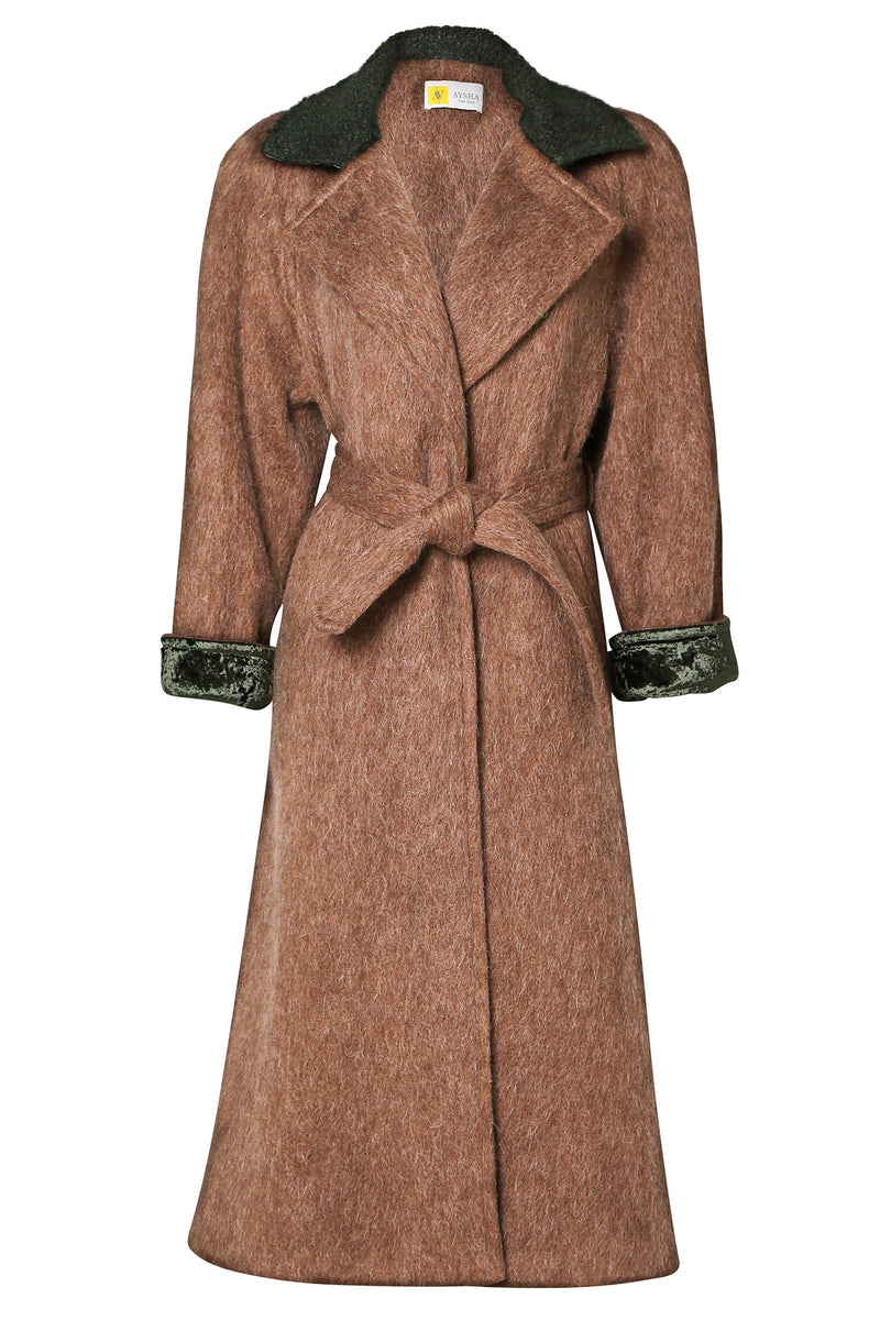 Custom Made Coat: Cognac