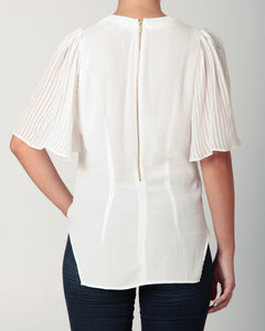 Bell Sleeve Blouse White