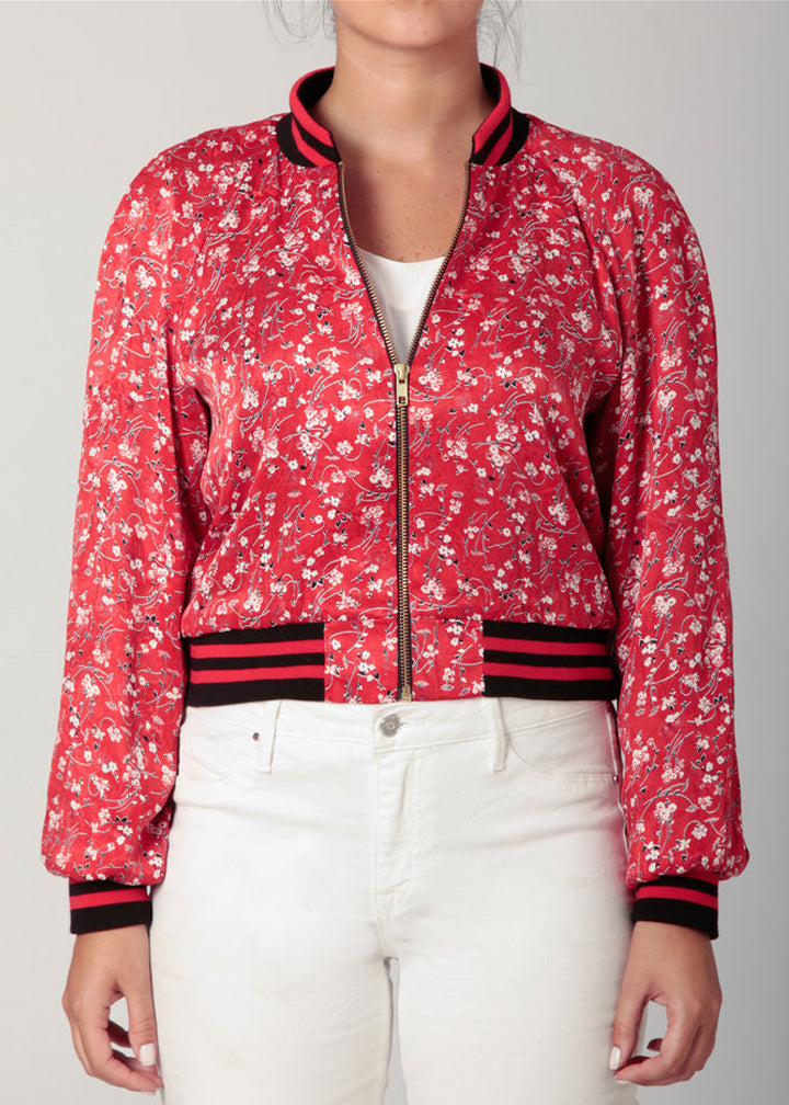 Red Baseball Jacket