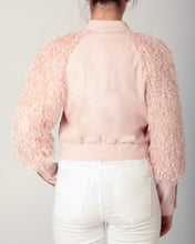 Load image into Gallery viewer, Pink Fringe Crop Jacket