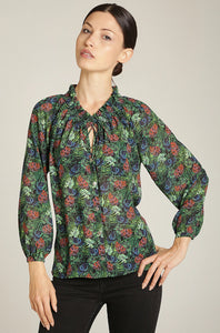Jungle Print Blouse